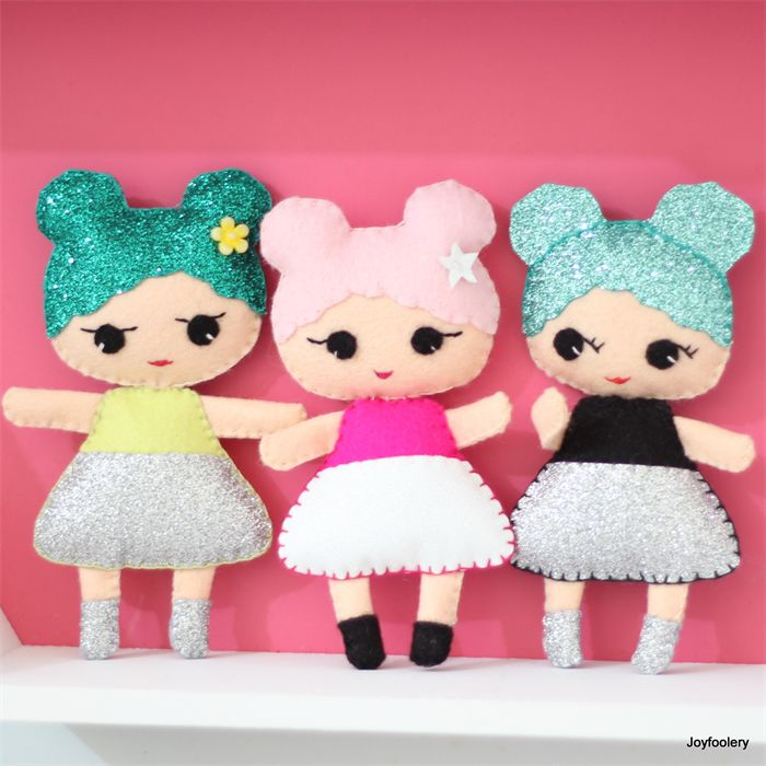 Three Disco Kid Dolls by Joyfoolery