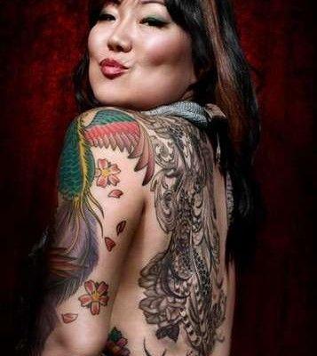 margaret cho tattoos