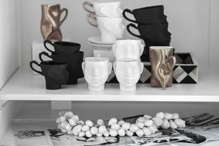 at home / fusion house diary / porcelain / deco / end ceramic /interior / shells - love warriors / i adore ♡