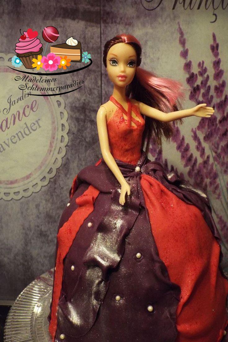 Barbie Torte für kleine Prinzessinnen