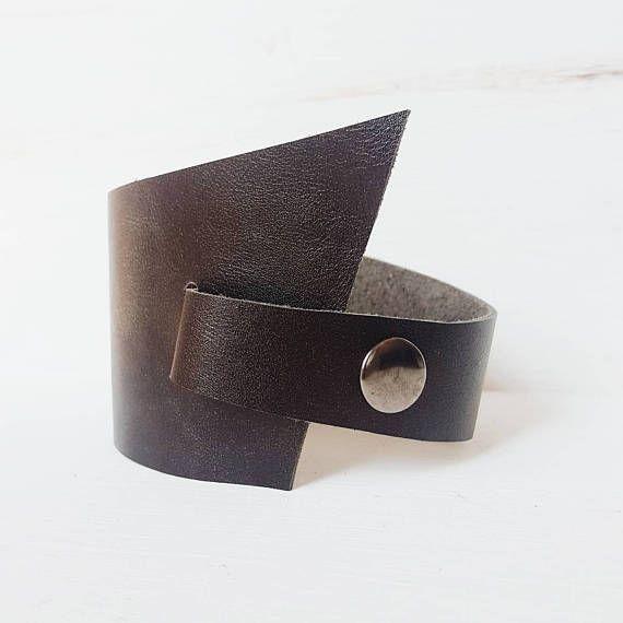 Bronze Lederarmband für FrauenArmband Leder