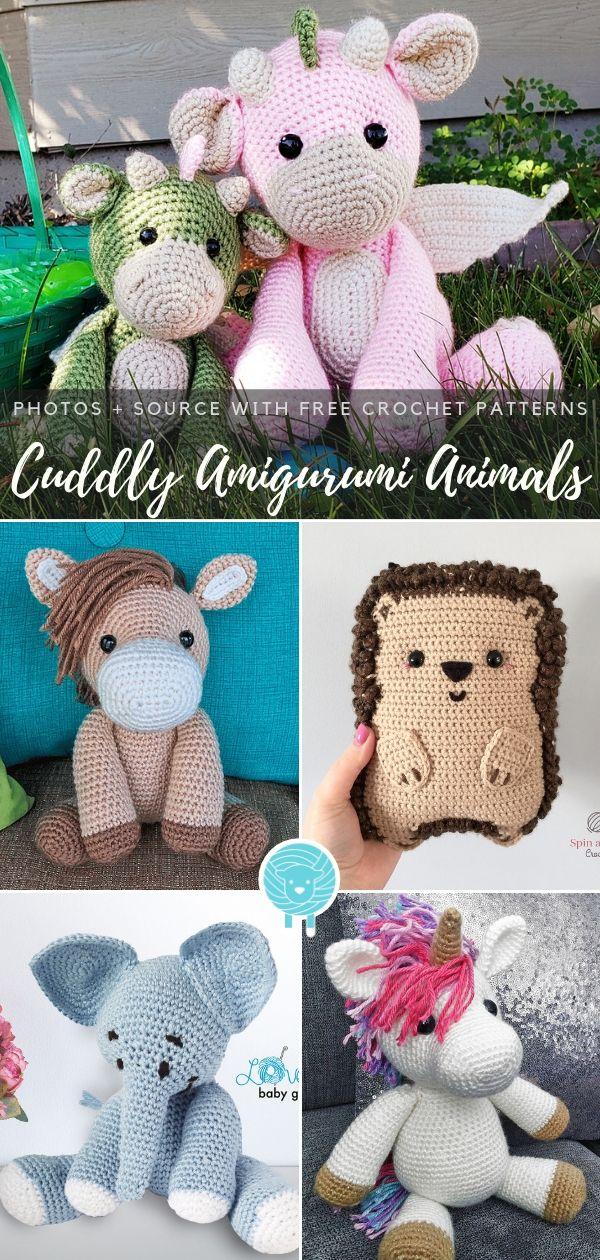 Knit or Crochet 35 of the CUTEST Amigurumi Foxes ever! | amiguru.me | 1260x600