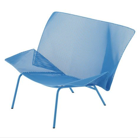106 best obj sit images on pinterest chair design for Chaise grillage design
