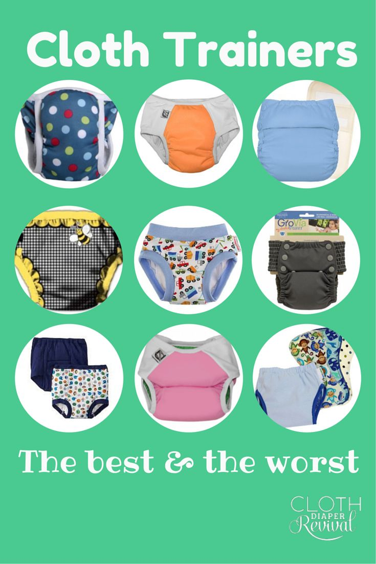 Cloth Diaper Revival: Cloth Training Pants: The best and the worst.