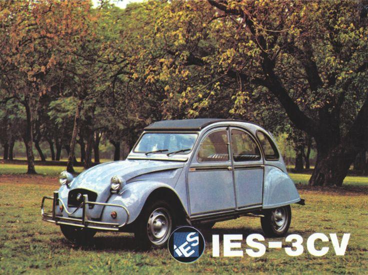 Argentinian Citroëns - advertisements for the 2CV, 3CV, IES 3CV America and IES Carga