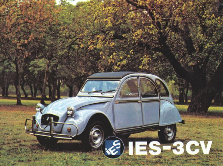 Argentinian Citroëns - advertisements for the 2CV, 3CV, IES 3CV America and IES Carga