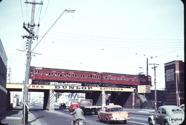 Clarendon Street, South Melbourne 1964