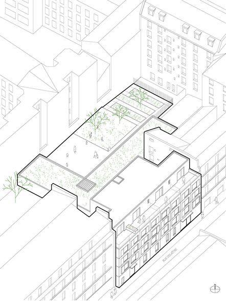 Crèche et résidence étudiante – Paris XXe - Antoine Regnault Architecture