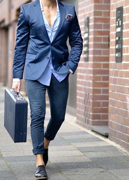 the day to start in right style // mens suit // urban men // mens fashion…