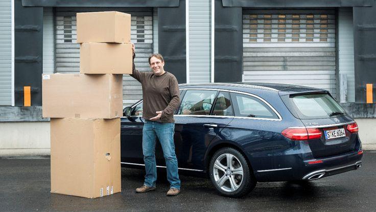Mercedes E-Klasse als Kombi im Test - Kleiner – aber trotzdem ein Raumwunder!  -  Neuheiten & Tests -  Bild.de