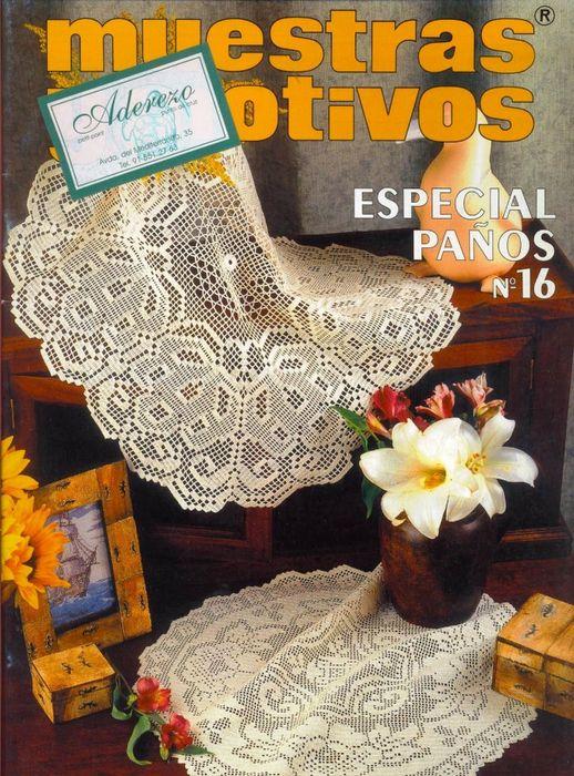 Books, magazines - muestras y motivos on Pinterest | Ganchillo ...