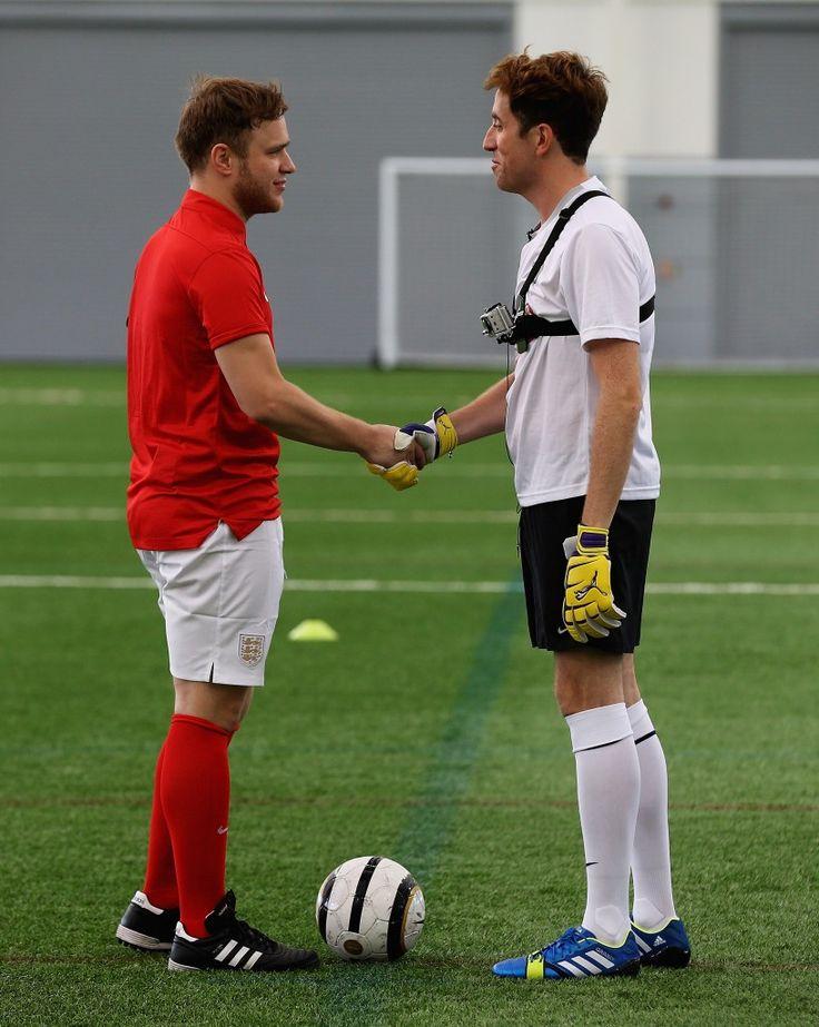 Nick Grimshaw, Olly Murs, football, celebrity, news, BBC Radio 1 five-a-side football match ,BBC,