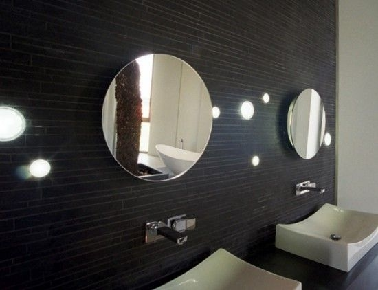 38 best specchi bagno images on Pinterest | Bathrooms, Circle ...