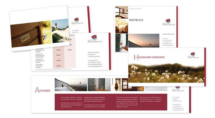 HAUS ROOAD WEETER HELGOLAND Hotel - Gischt & Glut Kommunikation