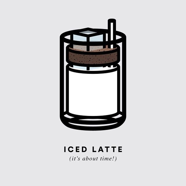 It's finally starting to heat up! Almost time for iced lattes all day, errryday!! #coffee #summeriscoming