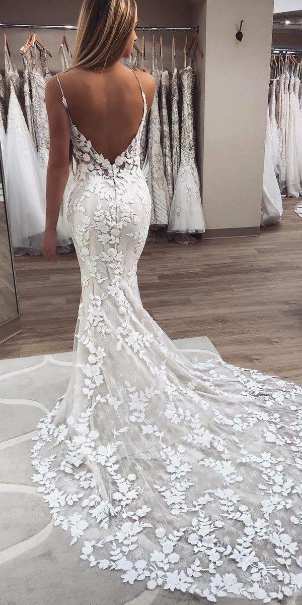 20 Stunning Trumpet & Mermaid Wedding Dresses