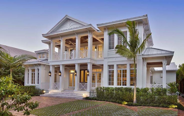 House Plan 75945 | Colonial Southern Plan with 5653 Sq. Ft., 5 Bedrooms, 7 Bathrooms, 3 Car Garage