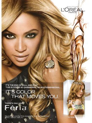 Beyoncé for Loreal Feria Allure  March 2011