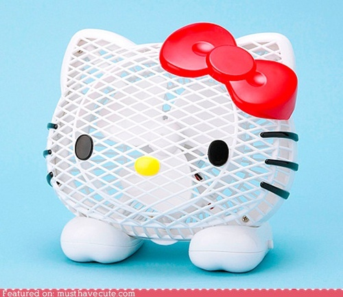 Hello Kitty Fan