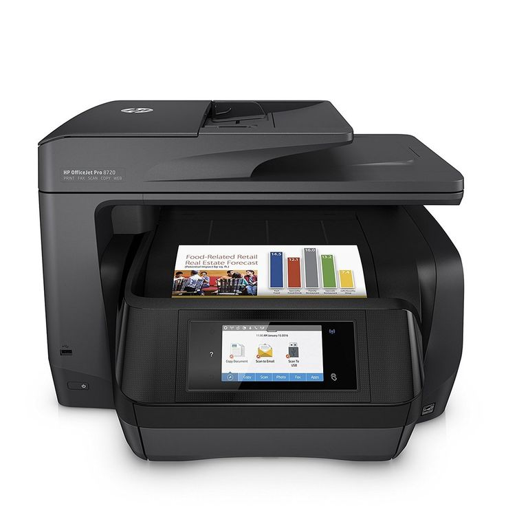 HP OfficeJet Pro 8720 All-in-One Wireless Printer with Mobile Printing, Instant Ink ready - Black (M9L74A) #printers #officeprinters #officeequipment #OfficeOfProfit #allinoneprinter #allinone #wirelessprinter #hpprinters