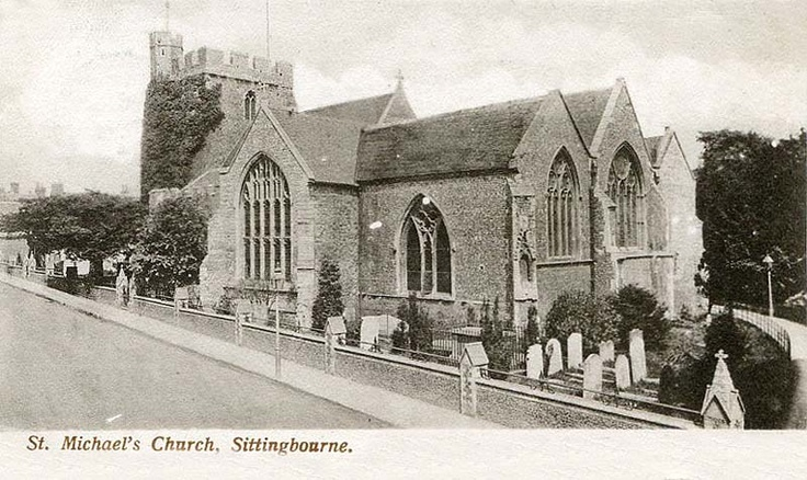 Our family church in Sittingbourne, Kent, England. Really feeling nostalgic for England right now - wanting desperately to go back.
