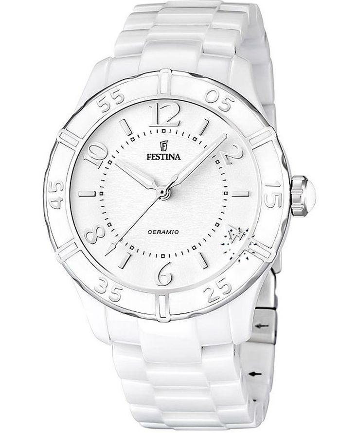 FESTINA Ladies Ceramic Bracelet Τιμή: 258€ http://www.oroloi.gr/product_info.php?products_id=38795