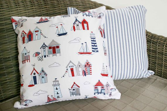 Beach / Nautical Cushion Cover  16 by BlossomvioletCrafts on Etsy #etsyspecialt #integritytt