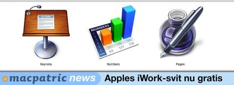 Apple har nu i dagarna gjort sitt kontorsprogrampaket iWork helt gratis för Mac-datorer. Programpaketet innehåller programmen Pages (ordbehandling), Numbers (kalkylark) och Keynote (presentationsblad). Dessa program har sedan de lanserades varit kostnadsbelagda enligt olika prismodeller med undantag från de gratisversioner som medföljt Mac-datorer på senare år. Men nu i dagarna har Apples eget iWork blivit helt gratis för Mac-datorer. Dock finns en liten hake. Systemkravet är Mac OS Sierra…