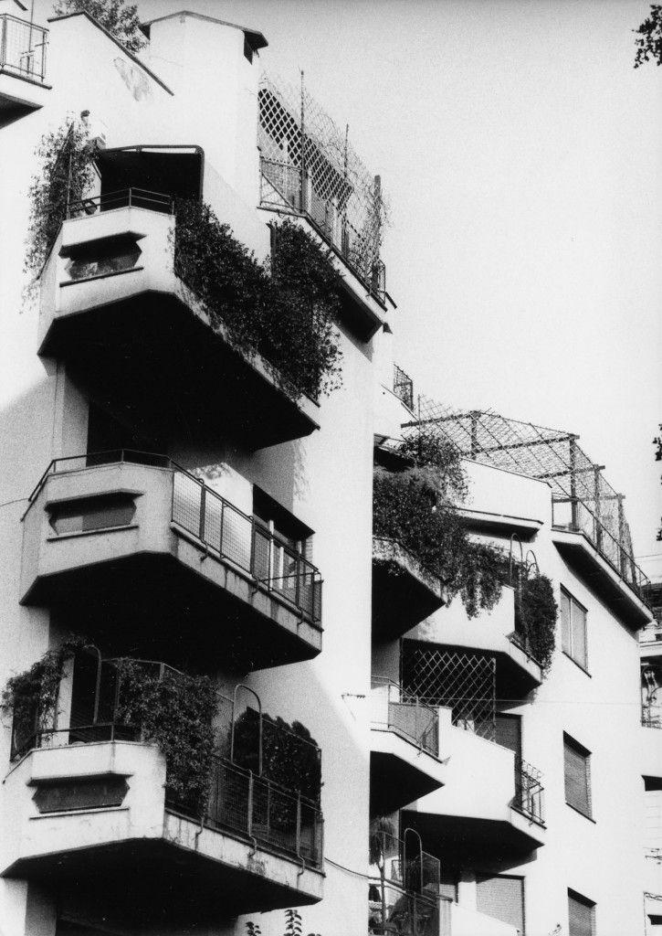 Bruno Zevi, Silvio Radiconcini | Viviendas Palazzina in via Giuseppe Pisanelli | Roma, Italia | 1950-52