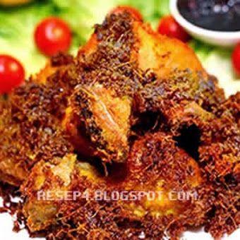 Resep Ayam Goreng Lengkuas Kuning Enak