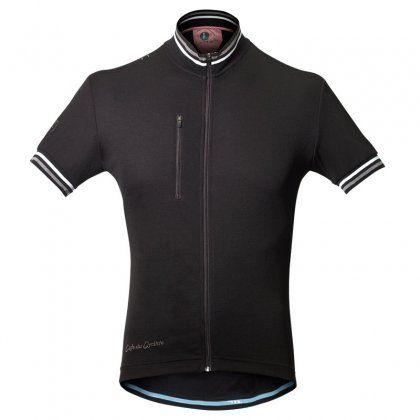 Cafe du Cycliste Violette Jersey (in black)