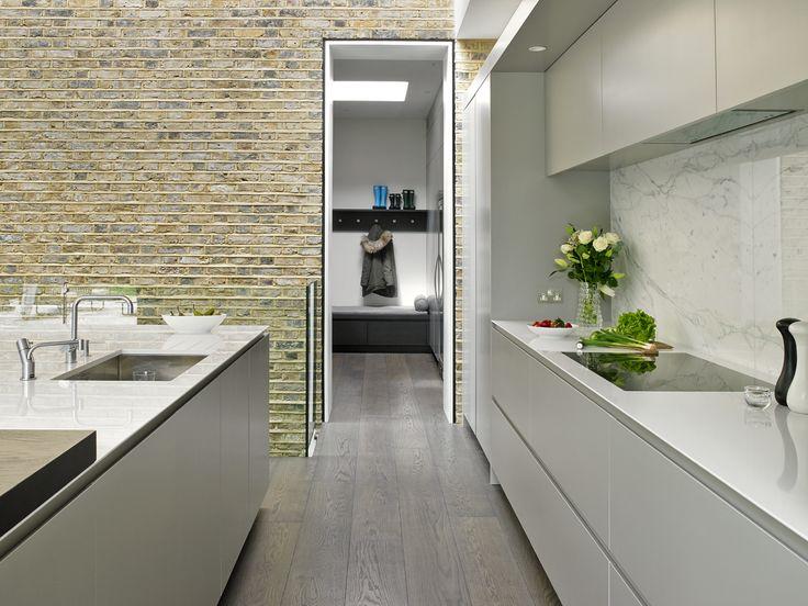 Wandsworth kitchen hidden cloakroom