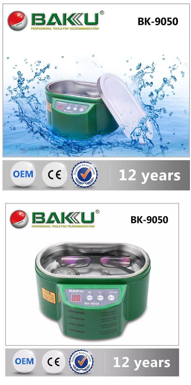 [Visit to Buy]  BK-9050 Smart Mini Ultrasonic Cleaner Bath For Cleaning Jewelry Glasses Circuit Board Intelligent ultrasonic washing ultrason #Advertisement