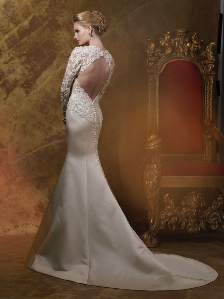 Wedding dresses 2015 collection hand beaded corded lace for Hand beaded wedding dresses