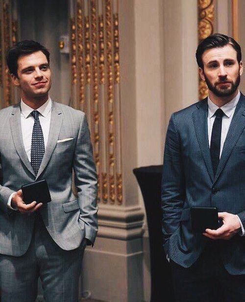 Sebastian Stan and Chris Evans                                                                                                                                                                                 More