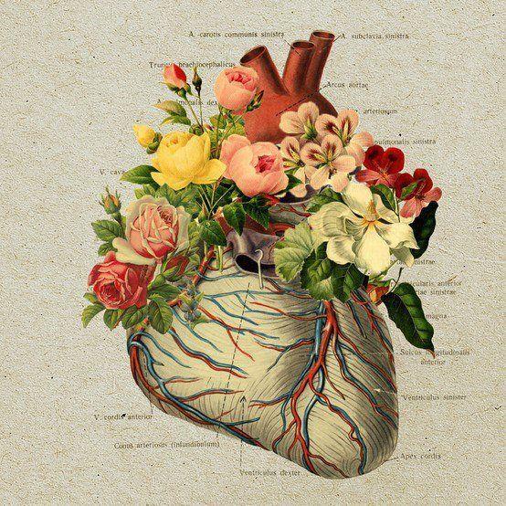 Corazón florecido de felicidad by Faena Sphere