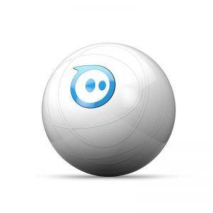 Sphero 2.0 App Gesteuerter Roboter Ball  Steuer den Sphero mit deinem Smartphone oder Tablet Programmiere ihn selbst oder verwende kostenlose Apps Kompatibel mit Android und Apple Inklusive zwei Rampen  Es fand eine rundum Verbesserung des Sphero von den Machern statt.  Sphero 2.0 hat einen neuen Antrieb erhalten und kann nun rund 2 m/s zurücklegen.  Er leuchtet auch in Millionen Farben viel heller.  #HandyApp #sphero2.0 #Spielzeug #Toys #trends #new #aktuel