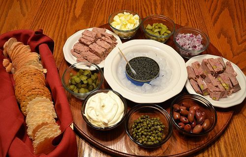 How to serve caviar | Food -- Entertaining | Pinterest | Home, Pheasant and Figs