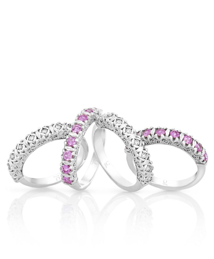 Wear them individually or stack them - always beautiful. Jenna Clifford Designs | Renaissance � Rings