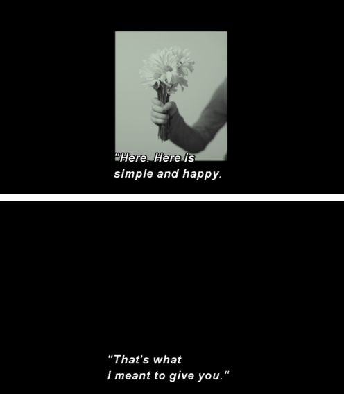 Never underestimate the happiness that simplicity can bring   (The Beginners)