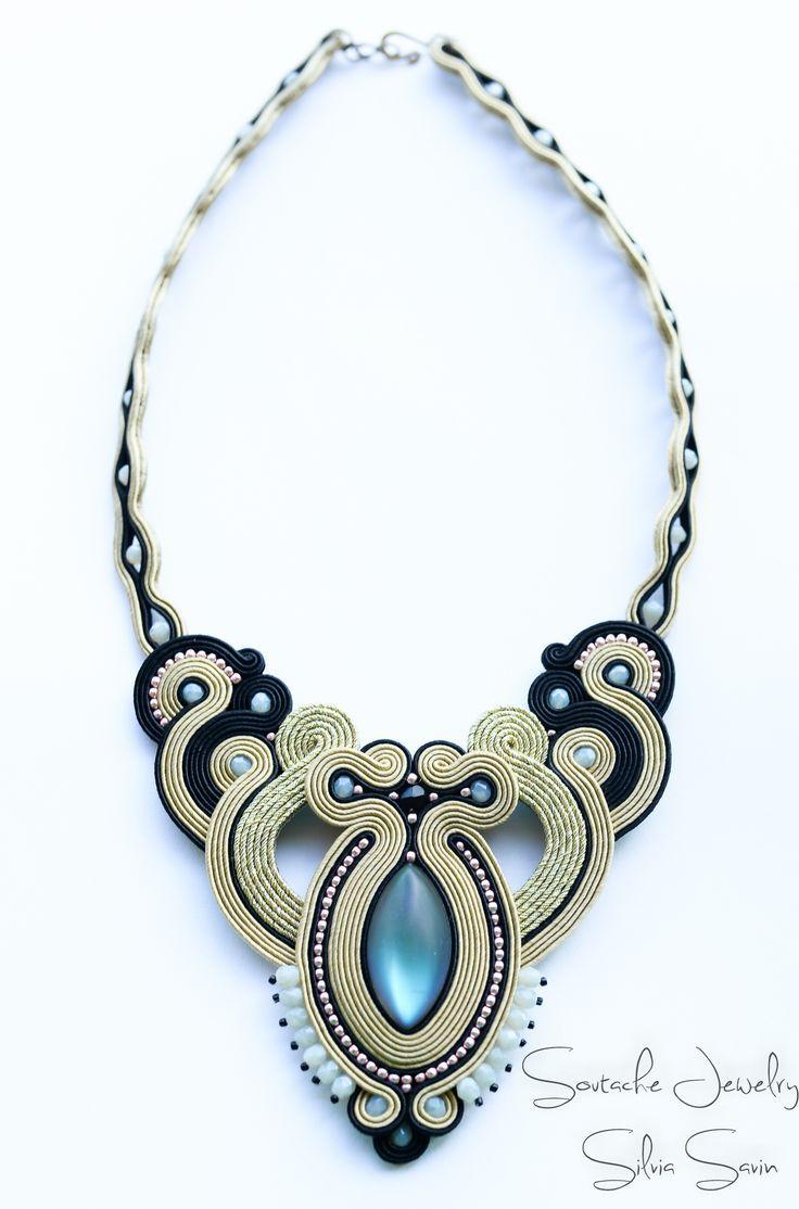 Картинки по запросу soutache necklace