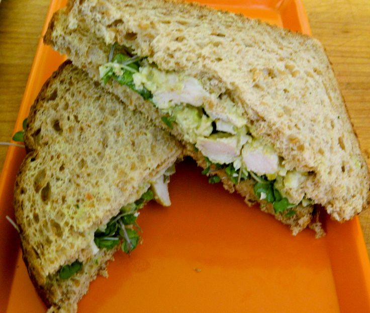 Chunky Guacamole Chicken Sandwich