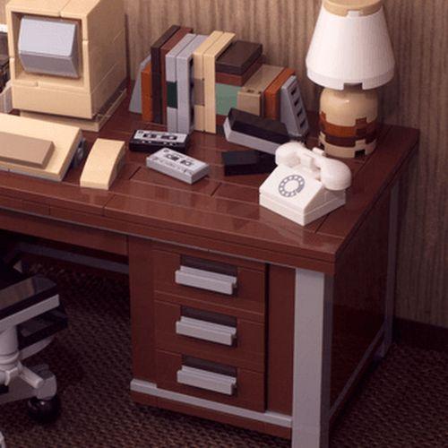 Disponibili le istruzioni per la scrivania LEGO vintage - Destroy This Nerd