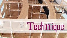 Points techniques pour meubles en carton