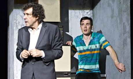 Richly theatrical … Stephen Rea, left, and Cillian Murphy in Enda Walsh's Ballyturk.