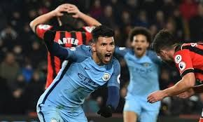AFC Bournemouth 0 - 2 Manchester CityCompetition: Premier LeagueDate: 13 February 2017Stadium: Vitality Stadium (Bournemouth, Dorset)Goals: Manchester City [Raheem Sterling, Sergio Aguero]