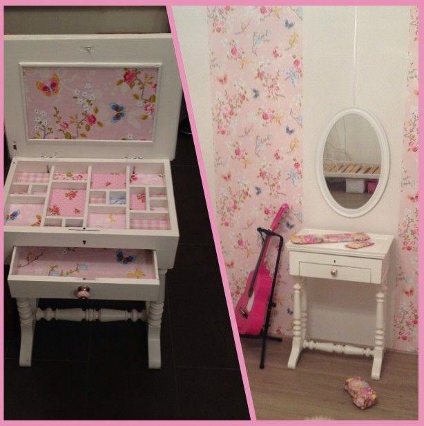 25 beste idee n over make up tafels op pinterest kaptafels en make up bureau - Tafel roze kind ...