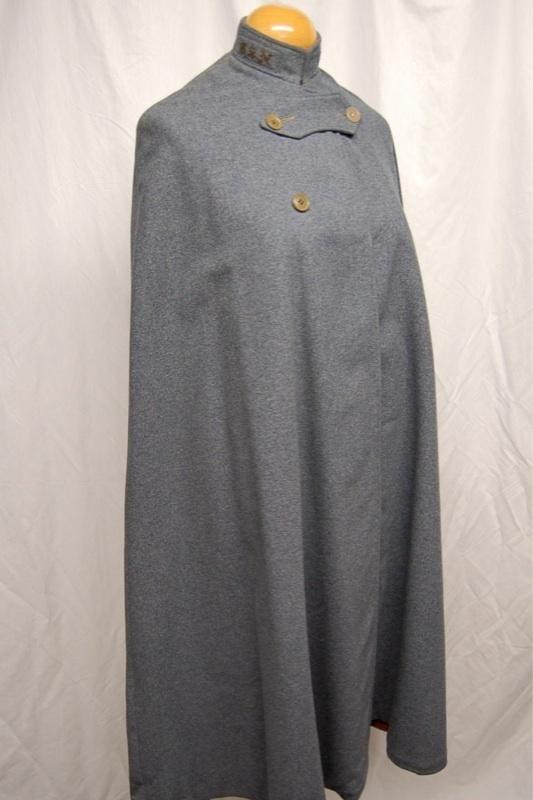 Vintage Wwi Wwii Usn Military Wool Nurse Cape Cloak Jacket