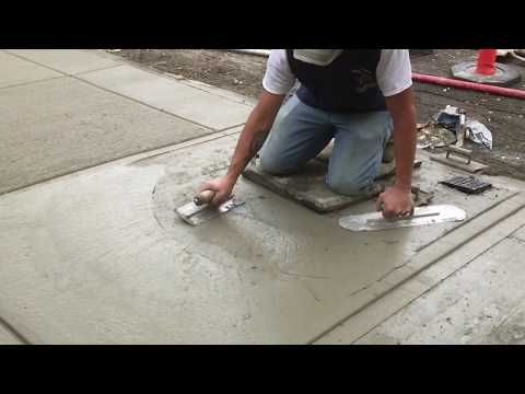 Beginners Learn to Install a Concrete Walkway in 5 min | Concrete and Cement Work - YouTube