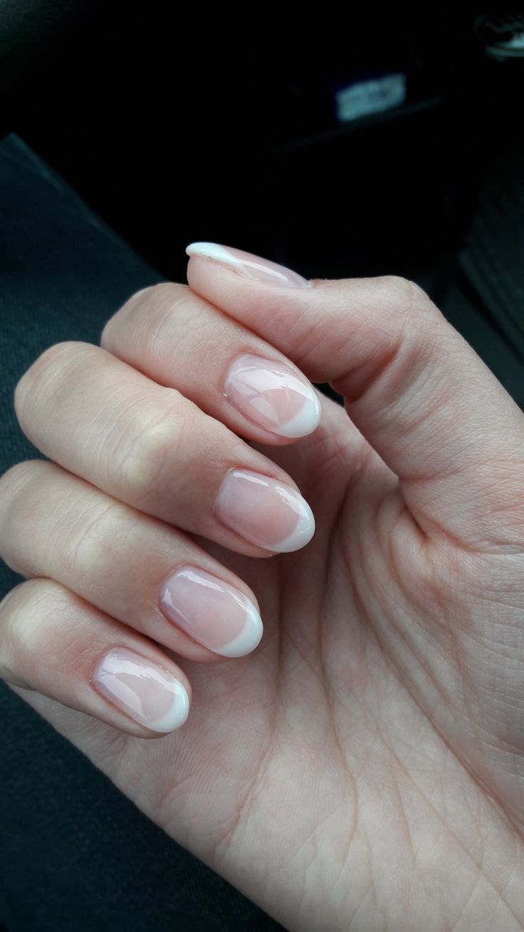 best 25 natural french manicure ideas on pinterest natural wedding nails american french. Black Bedroom Furniture Sets. Home Design Ideas
